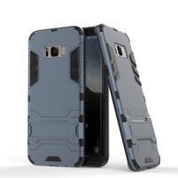 Guard odolný obal pre mobil Samsung Galaxy S8 - šedomodrý