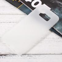 Finger matný gélový obal pre mobil Samsung Galaxy S8 - biely