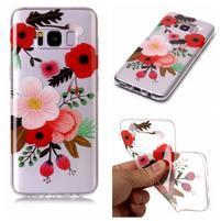 Patty gélový obal na Samsung Galaxy S8 - kvetiny