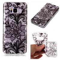 Patty gélový obal na Samsung Galaxy S8 - kvety