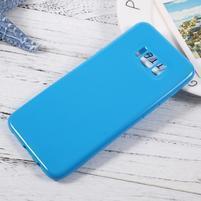GT lesklý gélový obal pre Samsung Galaxy S8 Plus - modrý