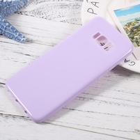 GT lesklý gélový obal pre Samsung Galaxy S8 Plus - svetlofialový