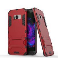 Guard odolný obal pre mobil Samsung Galaxy S8 Plus - červený
