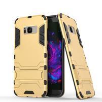 Guard odolný obal pre mobil Samsung Galaxy S8 Plus - zlatý