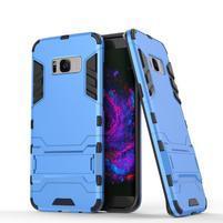 Guard odolný obal pre mobil Samsung Galaxy S8 Plus - svetlomodrý