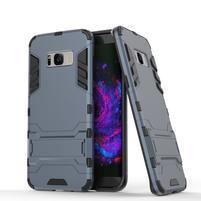 Guard odolný obal pre mobil Samsung Galaxy S8 Plus - šedomodrý