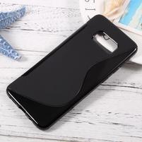 S-line gélový obal pre mobil Samsung Galaxy S8 Plus - čierný