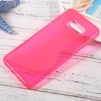 S-line gélový obal pre mobil Samsung Galaxy S8 Plus - rose