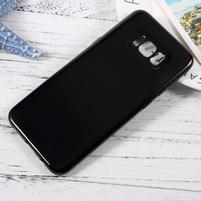 GT lesklý gélový obal pre Samsung Galaxy S8 Plus - čierný