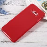 GT lesklý gélový obal pre Samsung Galaxy S8 Plus - červený