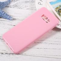 GT lesklý gélový obal pre Samsung Galaxy S8 Plus - ružový