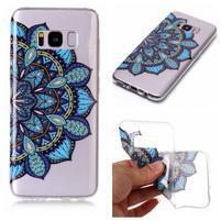 Patty gélový obal na Samsung Galaxy S8 Plus - modrá mandala