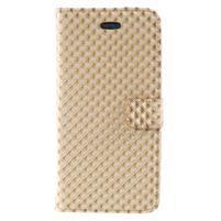 Rhomb peňaženkové puzdro na Samsung Galaxy S8 Plus - zlaté