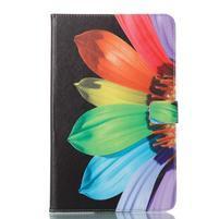 Patty knižkové puzdro na tablet Samsung Galaxy Tab A 10.1 (2016) - kvet