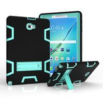 KickStand odolný obal so stojančekom na Samsung Galaxy Tab A 10.1 (2016) - modrý