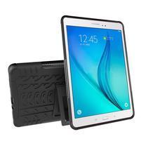 Outdoor odolný obal so stojančekom na tablet Samsung Galaxy Tab A 9.7 - čierny