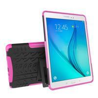 Outdoor odolný obal so stojančekom na tablet Samsung Galaxy Tab A 9.7 - rose