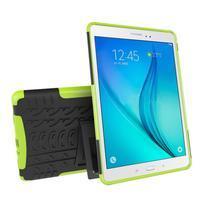 Outdoor odolný obal so stojančekom na tablet Samsung Galaxy Tab A 9.7 - zelený