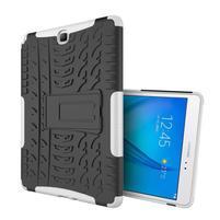 Outdoor odolný obal so stojančekom na tablet Samsung Galaxy Tab A 9.7 - biely