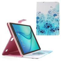 Ochranné puzdro pre Samsung Galaxy Tab A 9.7 - modré púpavy