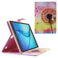 Ochranné puzdro pre Samsung Galaxy Tab A 9.7 - oranžová púpava