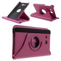 Circ PU kožené otočné puzdro pre Samsung Galaxy Tab A 7.0 - rose