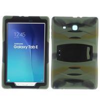 Duty hybridný odolný obal na Samsung Galaxy Tab E 9.6 - kamufláž