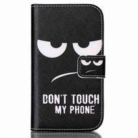 Motive PU kožené puzdro na Samsung Galaxy Xcover 3 - nesiahť
