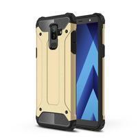 Armory odolný hybridný obal na Samsung Galaxy J8 (2018) - zlatý