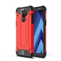 Armory odolný hybridný obal na Samsung Galaxy J8 (2018) - červený