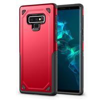 Arm hybridný odolný obal na mobil Samsung Galaxy Note 9 - červený
