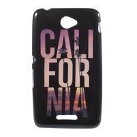 Gelový obal na Sony Xperia E4 - California