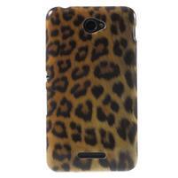 Gélový obal Sony Xperia E4 - gepard