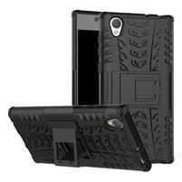 Outdoor odolný obal na Sony Xperia L1 - čierny