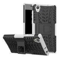 Outdoor odolný obal na Sony Xperia L1 - biely