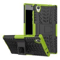 Outdoor odolný obal na Sony Xperia L1 - zelený