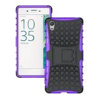 Outdoor odolný obal na Sony Xperia X - fialový