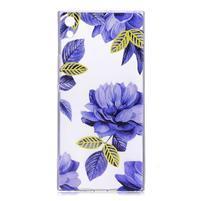 Patty gélový obal na Sony Xperia XA Ultra - modré kvety