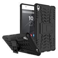 Outdoor odolný obal na mobil Sony Xperia XA Ultra - čierny