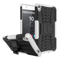 Outdoor odolný obal na mobil Sony Xperia XA Ultra - biely