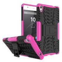 Outdoor odolný obal na mobil Sony Xperia XA Ultra - rose