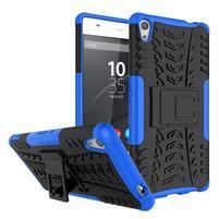 Outdoor odolný obal na mobil Sony Xperia XA Ultra - modrý