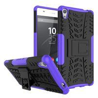 Outdoor odolný obal na mobil Sony Xperia XA Ultra - fialový