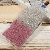 Glitter gélový obal na Sony Xperia XA Ultra - rose