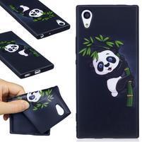 Matty gélový obal na Sony Xperia XA1 - panda na bambuse