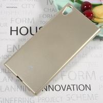 MG jemno trblietavý gélový obal pre Sony Xperia XA1 Ultra - zlatý