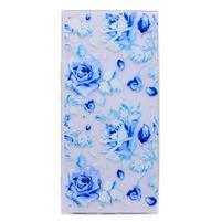 Thiny gélový obal na mobil Sony Xperia XA1 Ultra - modré ruže