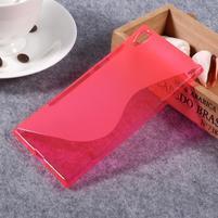 S-line gélový obal pre Sony Xperia XA1 Ultra - červený