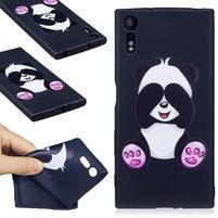 Matty gélový obal na Sony Xperia XZ - panda