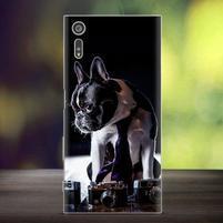 Bossy gélový obal pre mobil Sony Xperia XZ - pejsek
